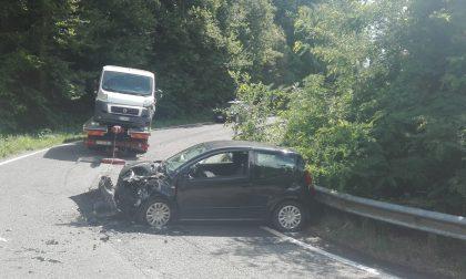 Scontro tra due auto a Colle Brianza