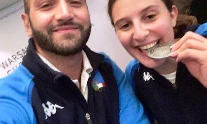 Sofia Brunati argento al mondiale di sciabola a Varsavia