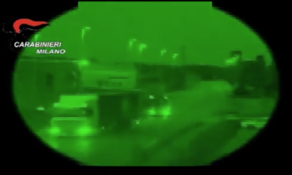 Rubavano mezzi pesanti e li nascondevano a Bellusco: in 11 finiscono nei guai VIDEO