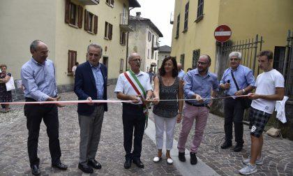 """Inaugurata a Pasturo la mostra """"Itinerari delle mani, della mente, del cuore"""" FOTO"""
