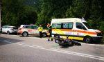 Incidente stradale a Civate: scontro auto moto, coinvolte tre persone FOTO e VIDEO