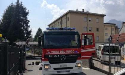 Grandissimo spavento all'Istituto Maria Ausiliatrice, una stanza prende fuoco FOTO