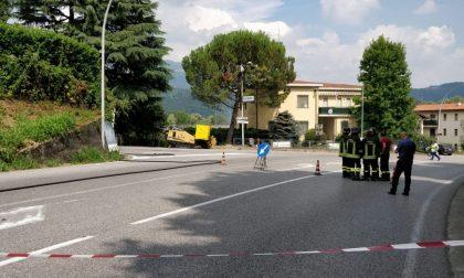 Fuga di gas, strade riaperte dalle 18