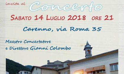 Il Corpo Musicale Donizetti suona in piazza a Carenno il 14 luglio