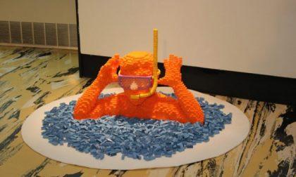 La carica dei 600mila mattoncini LEGO in mostra