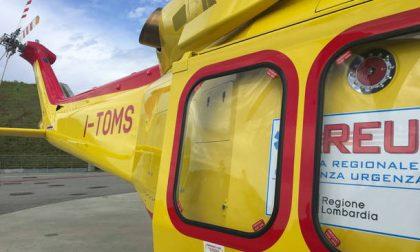 Nove bambini sull'elicottero del soccorso Areu