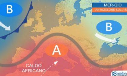 L'anticiclone africano torna a rimontare sull'Italia – PREVISIONI METEO