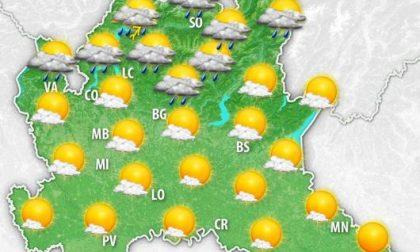 Ancora sole e caldo nella giornata di oggi, ma in serata è previsto un peggioramento