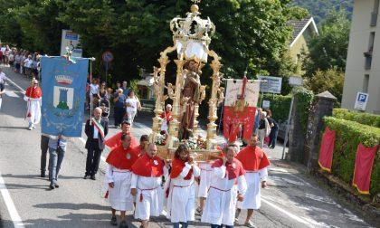 Cremeno, tanti i fedeli presenti alla solenne processione di San Rocco FOTO