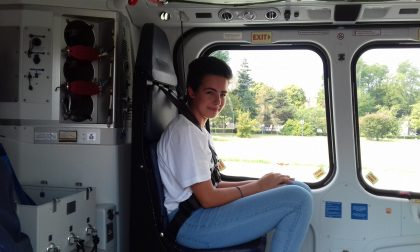 Volo con l'elisoccorso presente anche una giovane di Maslianico