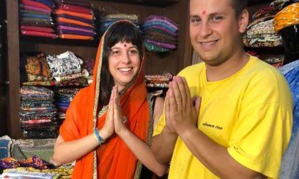 Il duo Gemma di Oggiono in viaggio di nozze in India FOTO
