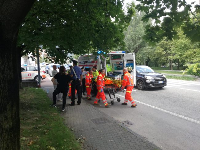 Pedone investito sulla statale a Garlate: 83enne finisce in ospedale