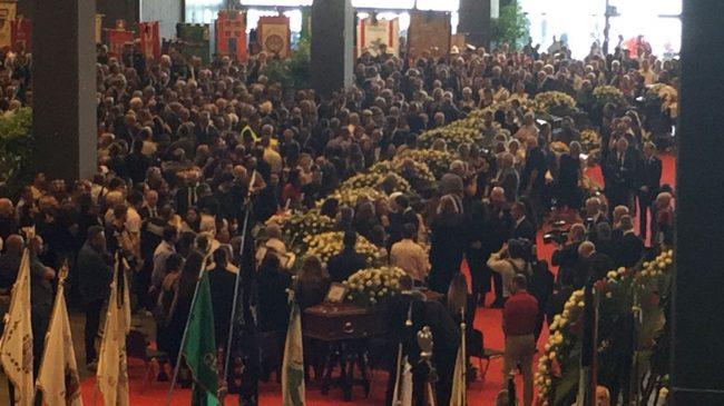 Genova, funerali solenni per le vittime