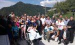 Monsignor Delpini inaugura il sentiero per disabili intitolato a papa Paolo VI FOTO VIDEO