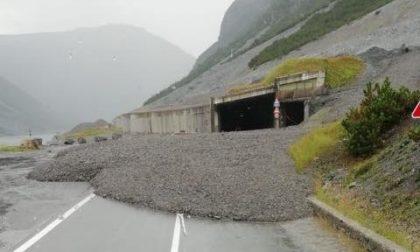 Forti temporali in Valtellina: grossa frana a Livigno, chiusa la strada