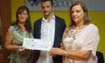 Serata con i Legnanesi: donati 3.500 euro all'Hospice il Nespolo