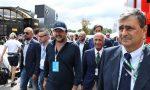 Matteo Salvini in Autodromo per tifare Ferrari FOTO