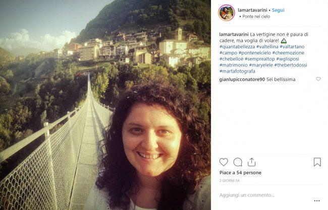 Ponte nel Cielo in Val Tartano pronto a diventare una star dei social FOTO