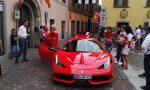Sfilata di Ferrari rombanti a Caprino FOTO