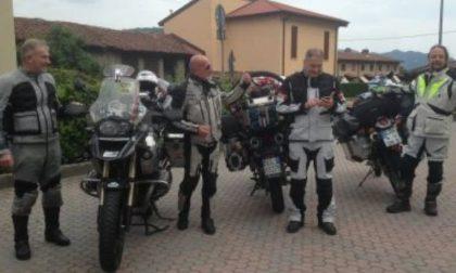 In sella alla moto anche per beneficenza: Amigoni racconta la sua nuova avventura