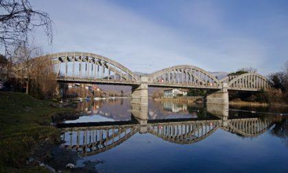 Indagini sul ponte di Brivio da parte del Politecnico: si viaggia a senso unico alternato