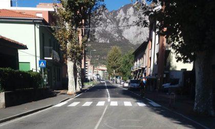 Terminati i lavori  in viale Montegrappa a Lecco FOTO