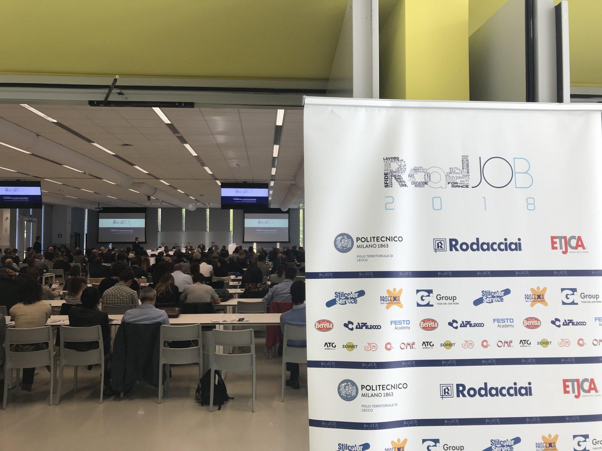 Roadjob 2018 a Lecco: manuale d'uso per giovani che si affacciano al mercato del lavoro