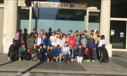 Toccante visita al Memoriale della Shoah