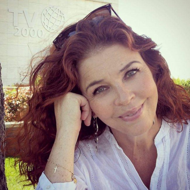 Gabriele Romagnoli e la  conduttrice televisiva Paola Saluzzi  alla Libreria Volante di Lecco