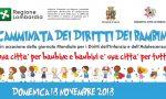 Domenica 18 novembre passeggiare è sostenere i diritti dei bambini