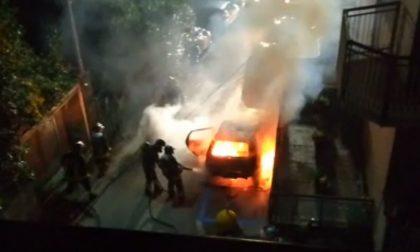 Boom di incendi auto nel Lecchese: tutti gli interventi dei Vigili del Fuoco di Lecco FOTO