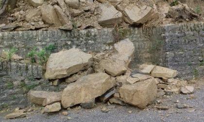 Frana tra Calolziocorte a Carenno: riaperta la strada
