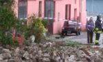 Maltempo sul lecchese: nuova frana a Valmadrera FOTO