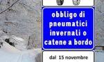 Obbligo pneumatici invernali in Lombardia: quando scatta e le sanzioni