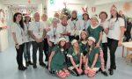 Babbo Natale raggiunge la pediatria a Merate FOTO e VIDEO
