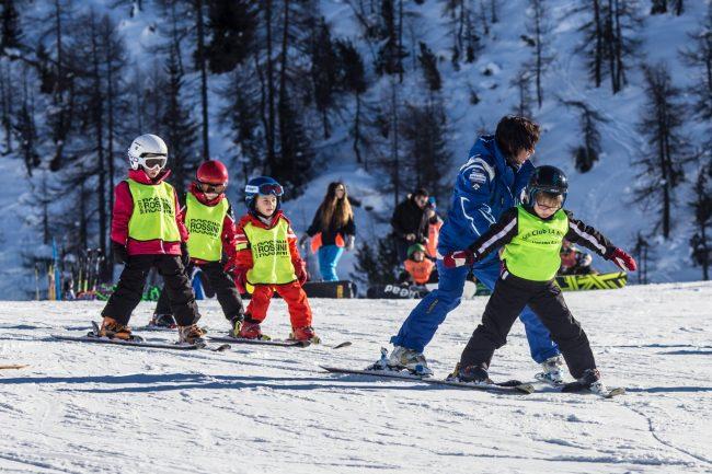 Lezioni gratuite sulle piste da sci