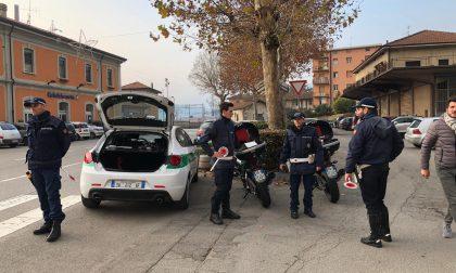 Calolzio: controlli della Polizia Locale in stazione