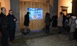 """Luminarie natalizie: il cortile di Palazzo Bovara più """"caldo"""" grazie al presepe... lecchese"""
