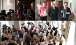 Anche quest'anno pranzo di Natale al CDD e conviviale con gli anziani di Lecco
