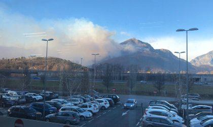 Allerta incendi: sul Lago e in Valchiavenna è codice rosso