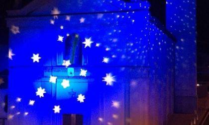 Luminarie natalizie: la chiesa del Pascolo risplende come un gioiello FOTO