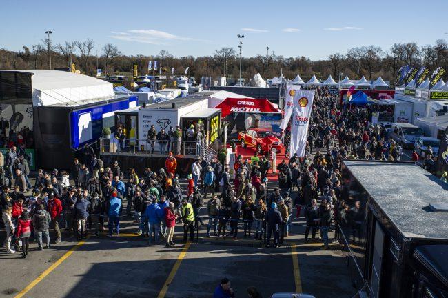 Rally Monza, Rossi chiude al comando il day1