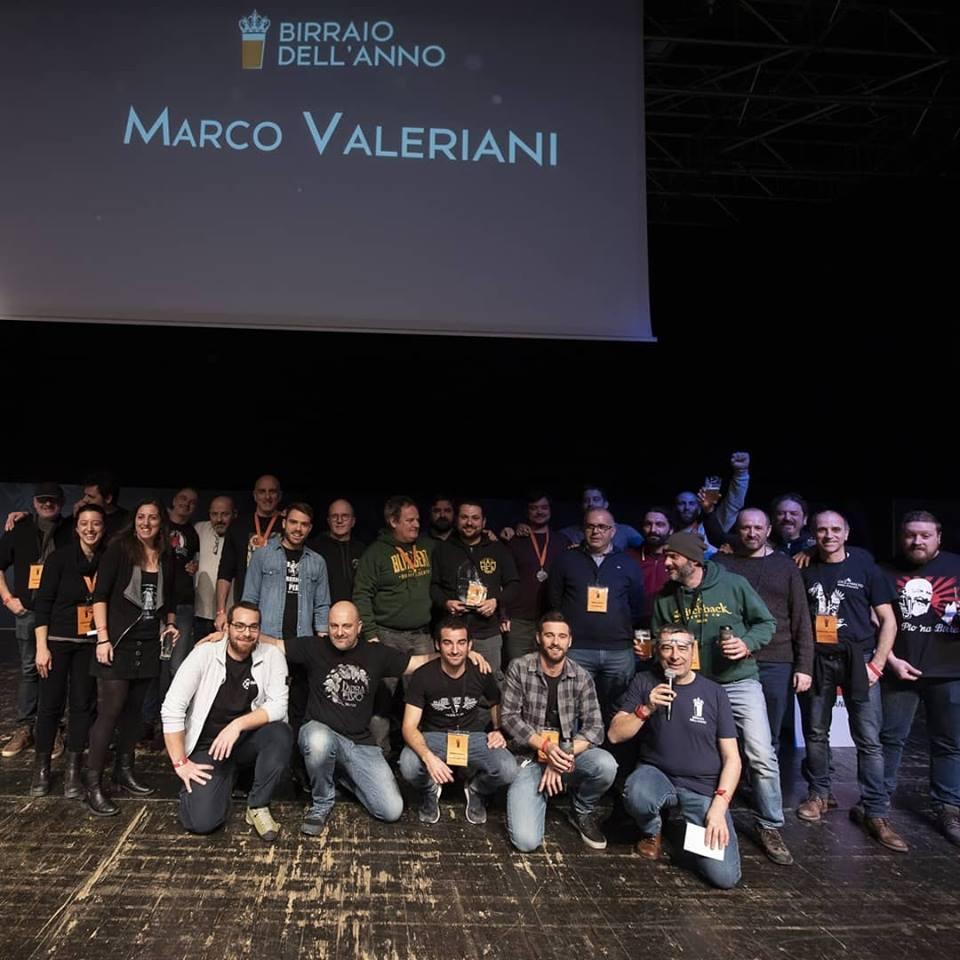 Villa d'Adda ancora sul tetto d'Italia con Hammer: Valeriani è Birraio dell'anno 2019