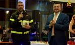 Bellano premia il vigile del fuoco Erik