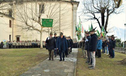 La reliquia di don Gnocchi accolta dagli Alpini FOTO