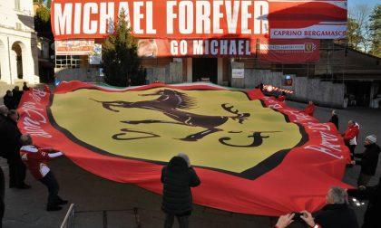 Forza Michael Schumacher, non arrenderti: il messaggio d'affetto dei tifosi bergamaschi