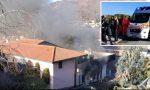 Paura per un maxi incendio in un capannone di ortofrutta: pompieri e sanitari al lavoro. Due donne  intossicate FOTO E VIDEO