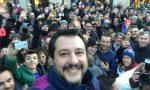 """Salvini a Bormio: """"aboliamo lo champagne e brindiamo con spumante valtellinese"""" VIDEO"""