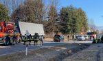 Scontro tra due auto e un camion: due donne ferite e traffico in tilt FOTO E VIDEO