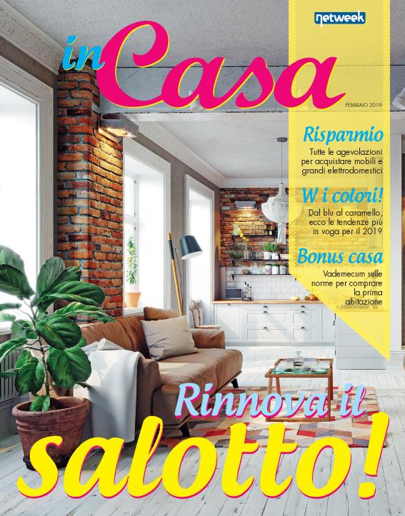 Torna la rivista inCasa in regalo con i nostri settimanali